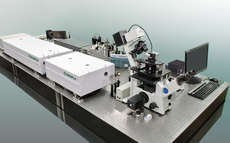 Coherent Anti-Stokes Raman Scattering Microspectrometer