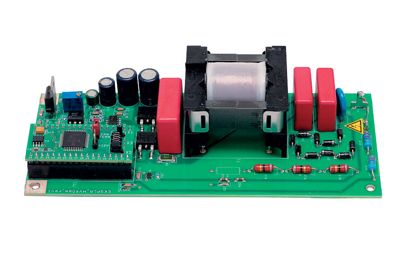 Typical view of HV40Wm power supply for Pockels cell drivers