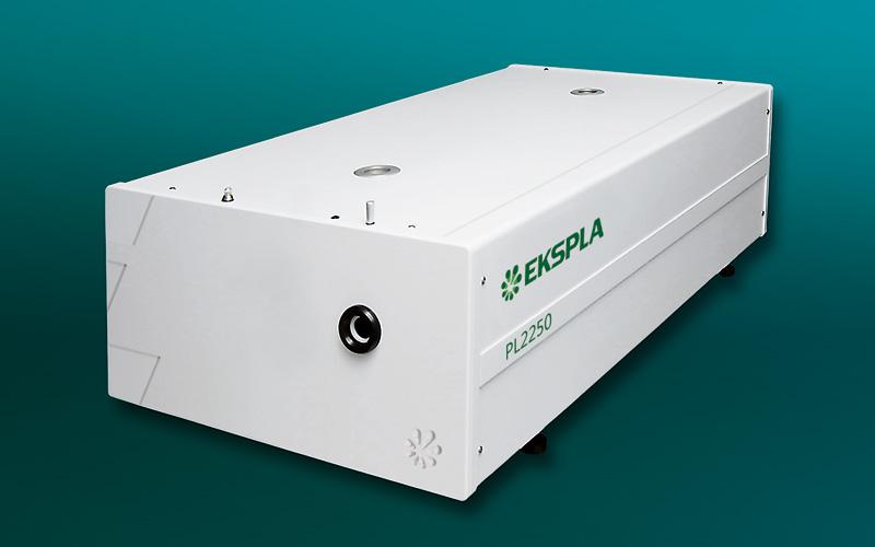 PL2250 series flash lamp pumped picosecond NdYAG laser