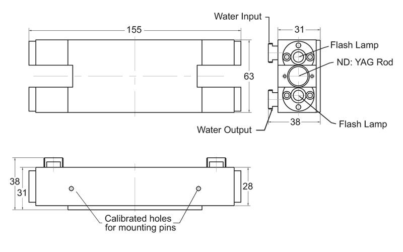 TM3 series pump chamber drawing