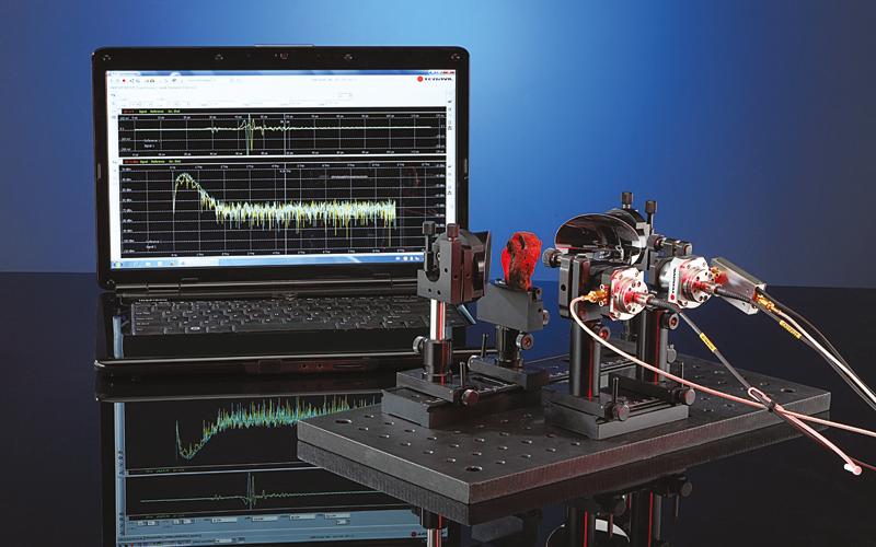 Fiber Coupled Terahertz Spectrometer T-FIBER series
