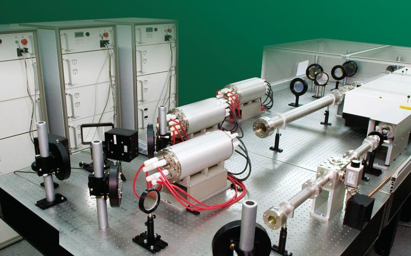 160 J @ 1053 nm MM laser system