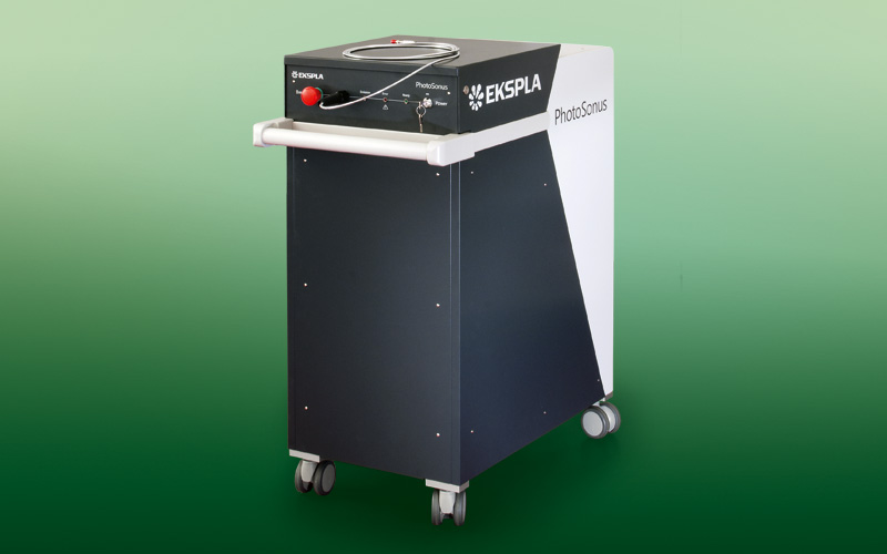 PhotoSonus series high energy tunable lasers for PAT