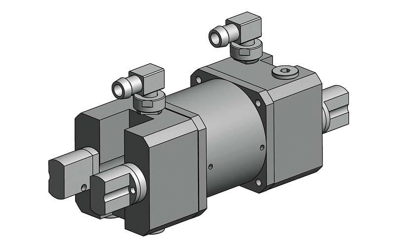 2MA12-58 / 2MA12-90 models pump chambers has been designed for two flashlamps